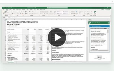 Introductory Video(1:30)Overview of how to instantly turn Excel data into insightful narratives directly within your worksheet.